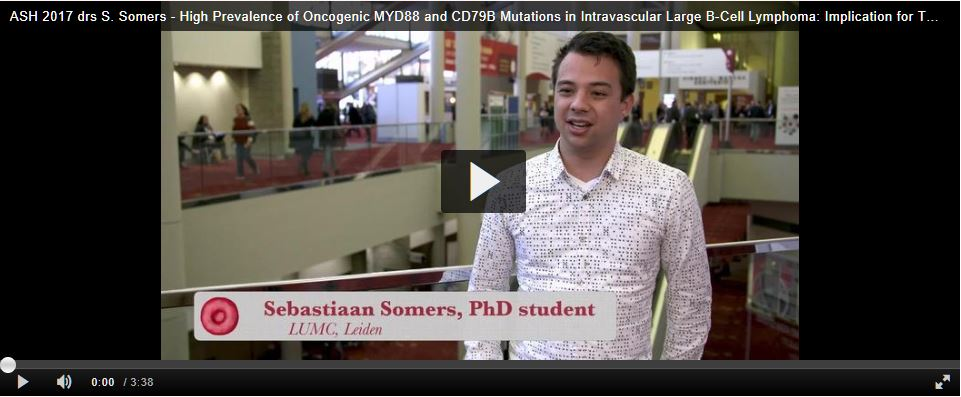 ASH 2017 - drs S. Somers (video)