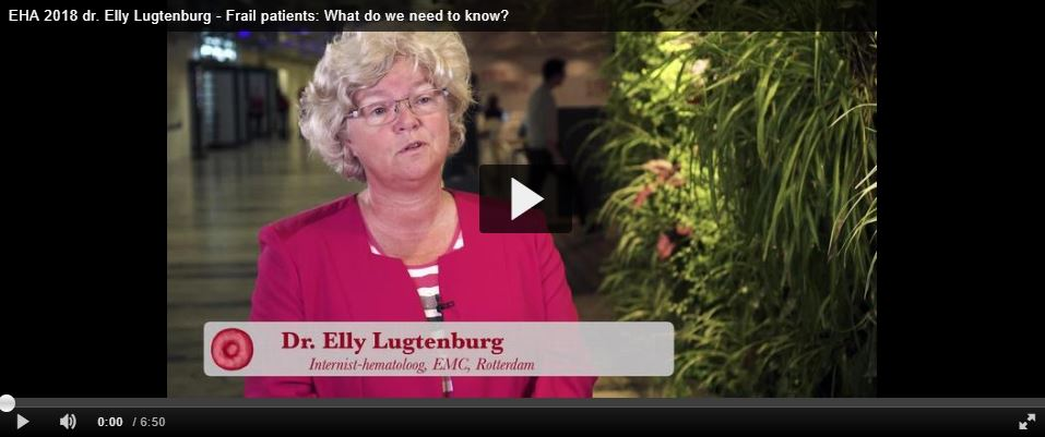 EHA 2018 - dr. Elly Lugtenburg (video)
