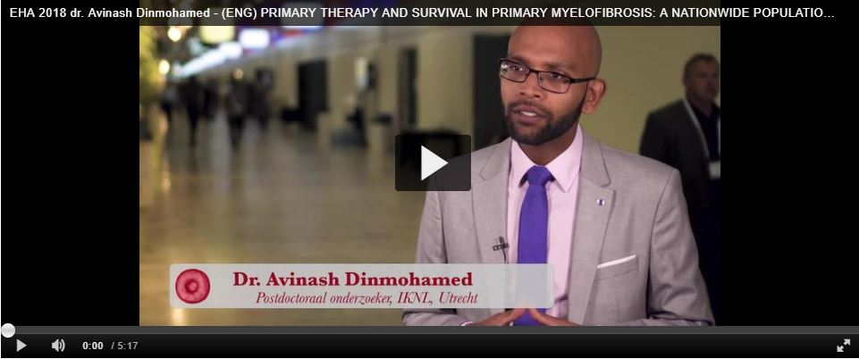 EHA 2018 dr. Avinash Dinmohamed (video)