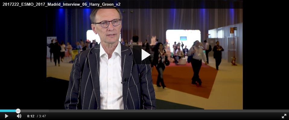 Video ESMO 2017 Prof. dr. Harry Groen - Management of typical and atypical lung NET