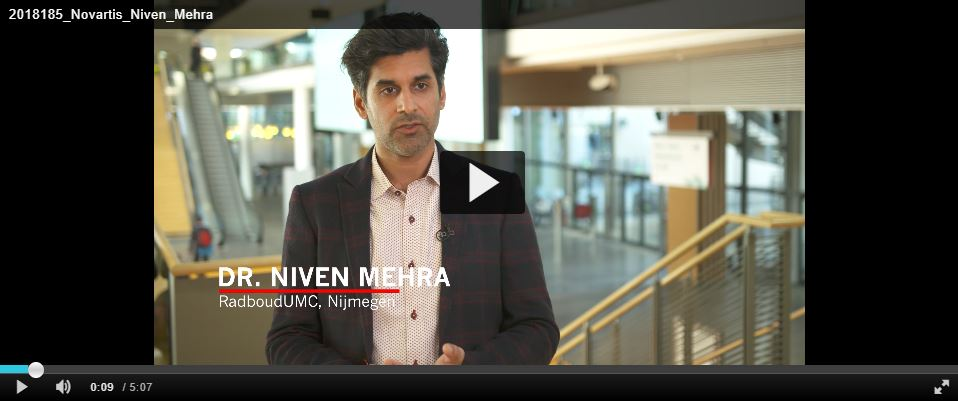 ESMO 2018 Dr. Niven Mehra - Highlights prostaatcarcinoom