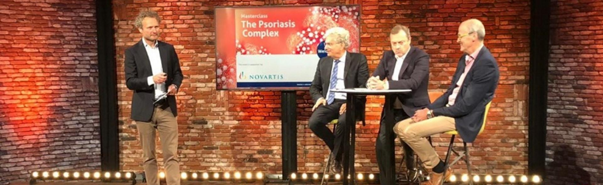 """Banner masterclass """"The psoriasis complex"""""""